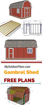 if you need more storage space in your backyard you should check out my free gambrel shed plans this 12x20 shed is ideal for a small work or for