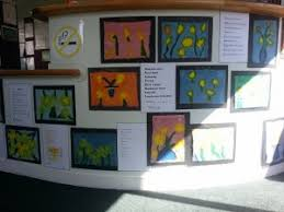 artwork for the office. Check Out The Kids\u0027 Fabric Paintings And Acrostic Poems About Daffodils In Office Artwork For Y