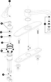 Moen Kitchen Faucet Diagram Moen Kitchen Faucet Parts Diagram House Decor
