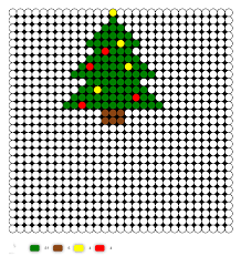 Perler Bead Ornaments  Housing A ForestPerler Beads Christmas Tree