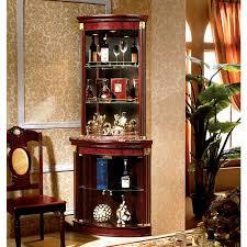 bar corner furniture. corner bar mirror glass showcases cabinet furniture