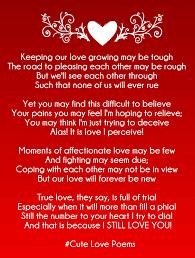 short love rhyming poems for her