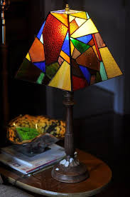 stain glass lamp shades amazing ter shade stained pertaining to 1