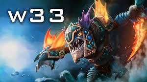 w33 slark 6659 mmr dota 2 gameplay youtube