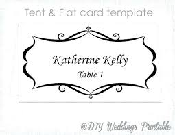 Microsoft Office Table Tent Template Microsoft Place Card Template Ms Word Place Card Template