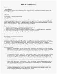 Career Objective Cv 75 Good Stocks Of Job Objective For Resume Best Of Resume