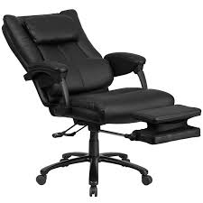high back leather executive reclining ergonomic office chair with lumbar support and coil seat springs