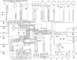 1991 flstc wiring diagram product wiring diagrams \u2022 Simple Wiring Diagrams harley davidson 1991 93 flstc flhs wiring diagram service manual in rh wellread me fxr wiring