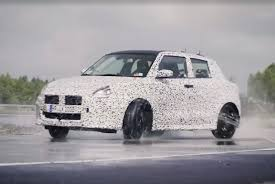 2018 suzuki swift sport interior.  swift we saw some teaser images yesterday confirming the new model will come  with a manual transmission a photo of instrument also revealed caru0027s  to 2018 suzuki swift sport interior
