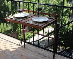 absolutely over the deck railing table 43 inspirational diy stuff 110 best townhouse balcony image on of trailer canopy awning nexus recipe garage