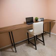Pipe Desk Design How To Build A Pipe Desk The Family Handyman