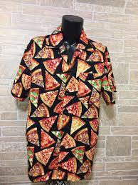 Pizza Hawaiian Shirt Slices Of Pizza Shirt Pizza Lover Shirt Casual Friday Shirt Party Shirt