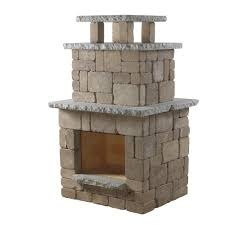 Of Outdoor Fireplaces Necessories Santa Fe Compact Outdoor Fireplace 4200040 The Home