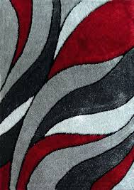 red and gray bathroom rugs red and gray rug lo la red gray modern hand tufted red and gray bathroom rugs