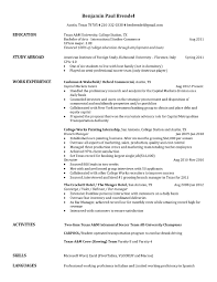 Office Post Office Resume