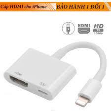 Cáp chuyển đổi lightning sang hdmi kỹ thuật số av tv cho apple iphone 6 7 8  plus ipad - Sắp xếp theo liên quan sản phẩm