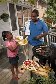 eating safe  nine questions that test your food safety know how    many and child grilling