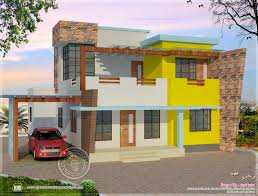 front elevation for ground and first floor round designs