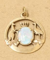 vintage 1971 south pacific 9ct gold opal pendant 107d 34 264015065879