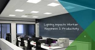 lighting for office space. Increase Worker Happiness \u0026 Productivity With An LED Lighting Upgrade For Office Space E