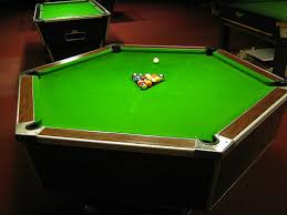 Circular Pool Table odd shaped pool tables weird and wonderfull pool tables  to round
