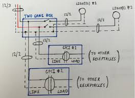 electrical need help designing a circuit layout and wiring Wiring A Detached Garage enter image description here wiring a detached garage