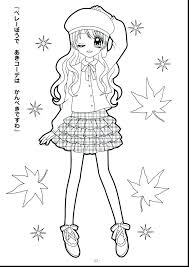 Anime Chibi Coloring Pages Coloring Pages For Adults A Anime Chibi