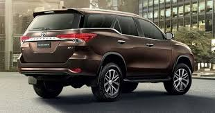 2018 toyota fortuner. perfect fortuner rear view 2018 toyota fortuner in toyota fortuner