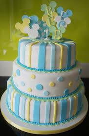 1st Birthday Mickey Mouse Cake Georginas Cakes