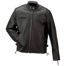 solid genuine buffalo leather jacket
