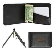 Designer Money Clip Wallet With Card Holder Details About Mens Genuine Leather Money Clip Slim Wallet Magnetic Black Id Credit Card Holder
