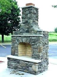 an outside fireplace and how to build a stone outdoor field mantel shelves i