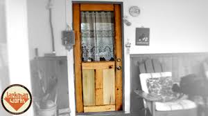 how to make a front doorHow to Build a Door from Scratch Mission Style  YouTube