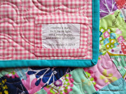Pink Doxies: Quilt Label Bliss & These little baby quilts were for family, and I Adamdwight.com