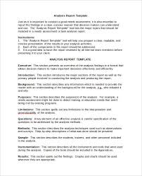 Simple Report Template Simple Data Analysis Report Template Lovely Analytical Report