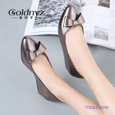 wedge shoes women pumps flat shoes leather shoes work shoes wedges soft sole