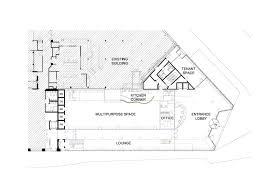 office space floor plan. Tamedia Office Building,Ground Floor Plan Space L