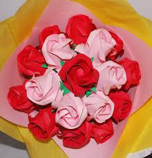 Paper Origami Flower Bouquet Origami Roses Paper Rose Bouquet Paper Flower Bouquet