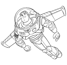 Buzz Lightyear Coloring Pages Free To Printllll L