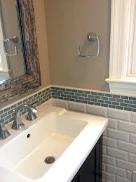 tile bathroom backsplash ...