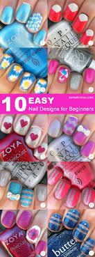 25+ trending Cute easy nail designs ideas on Pinterest | Cute easy ...