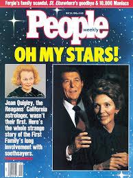 Nancy Reagan Birth Chart The Presidents Astrologers People Com