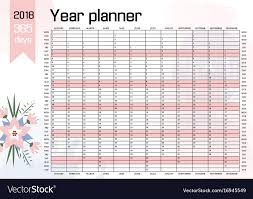 Wedding Planner Wall Chart Year Wall Planner Download