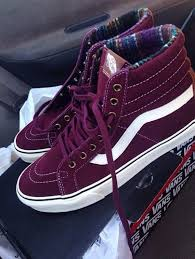 vans shoes high tops purple. shoes vans high top sneakers suede purple sk8 reissue tops s