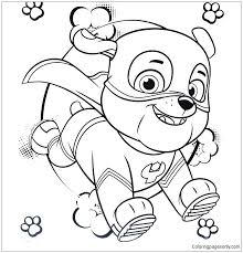 Paw Patrol Coloring Sheets Full Screen Download Print Picture Paw