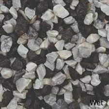 20mm black ice white blue gravel