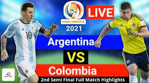 Argentina vs Colombia Full Match ...