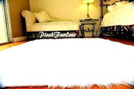 faux sheepskin rug large white fur area grey 8x10 black smashing home ideas g