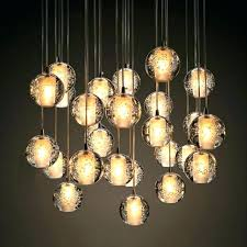 drop pendant lighting drop pendant light modern bubble crystal chandeliers lighting led bulb light meteor rain drop pendant lighting