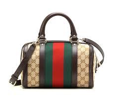 gucci bags on ebay. gucci women\u0027s vintage web original gg canvas boston bag small 269876 fwczg 9791 bags on ebay